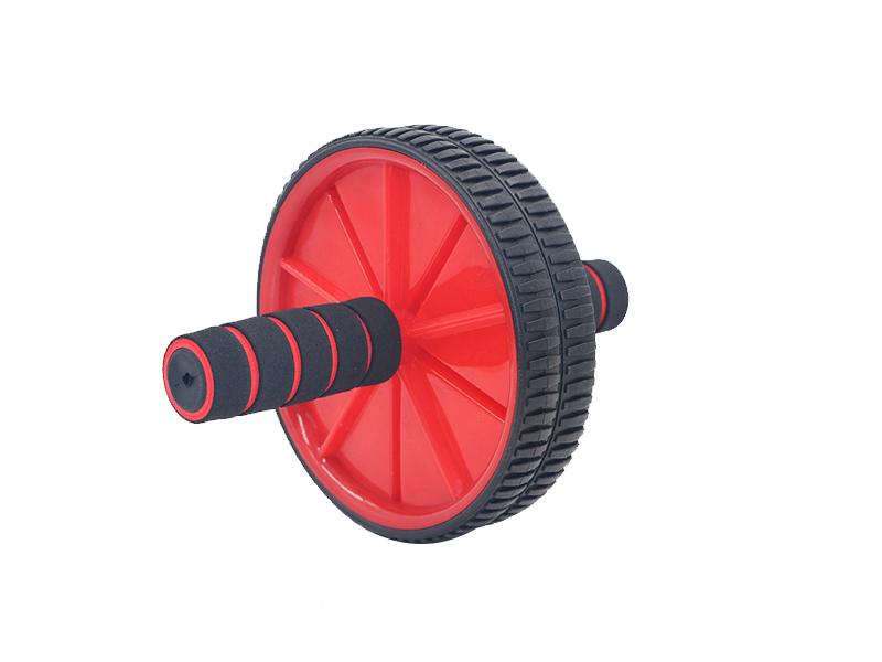 直径18cm的两色海绵双轮腹轮